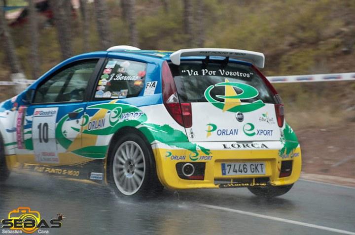 Fiat punto super 1600, rally subida a la santa 2014