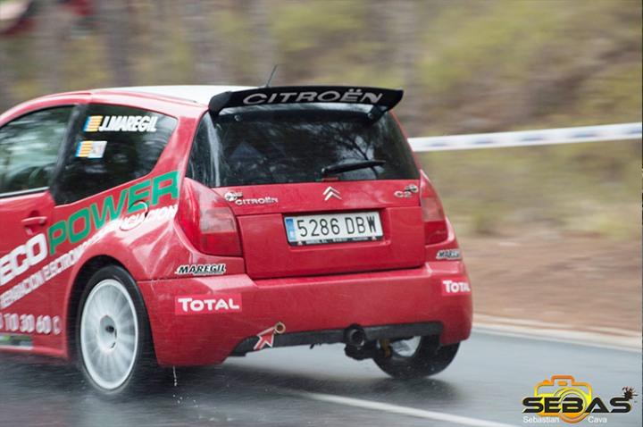 Citroen c2, rally subida a la santa 2014