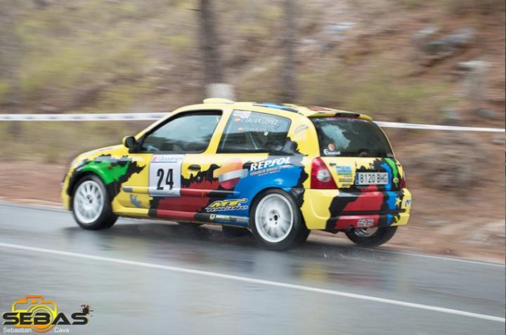 Renault clio sport, subida a la santa 2014