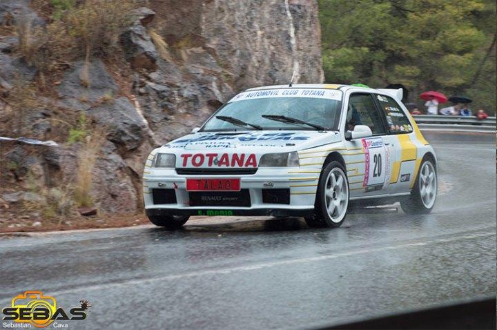 Renault clio maxi, subida a la santa 2014