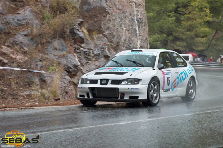 Seat cordoba WRC rally de la santa 2014
