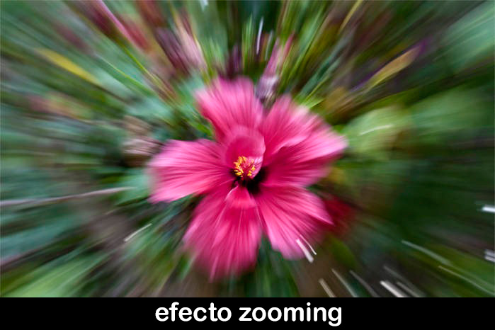 Efecto ZOOMING