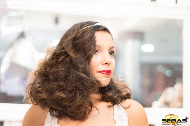 Peinado de novia por Fusión peluquería Totana