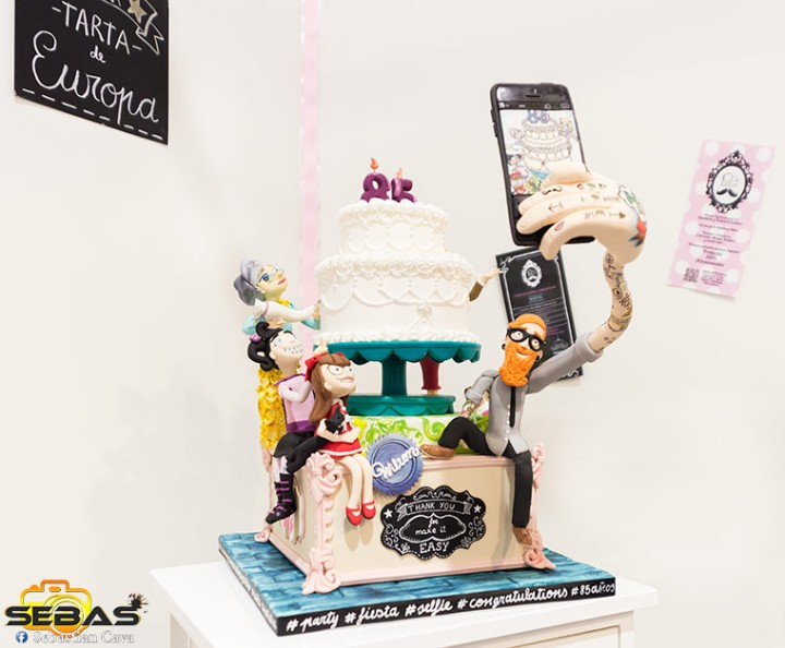 mejor tarta de europa creada por Sr pastel en Lorca