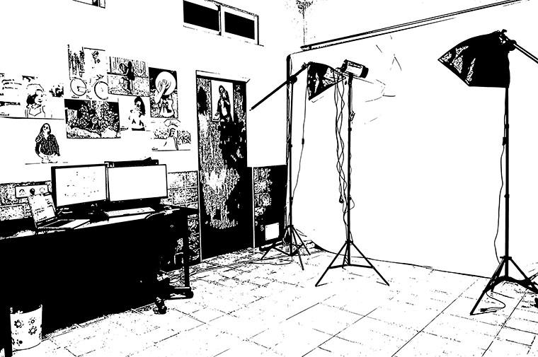 Hacer fotos de estudio con fondo blanco en Murcia