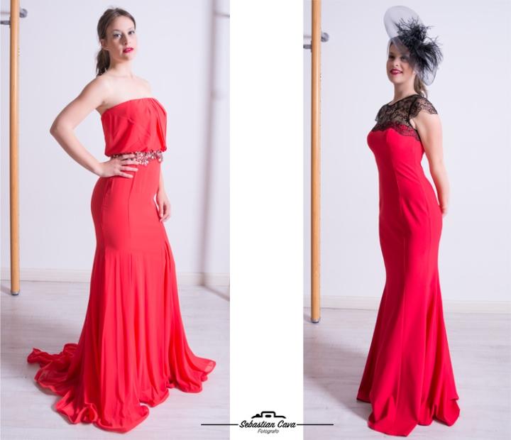 Vestidos rojos de primavera Boutique Ana