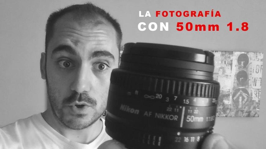 La fotografía con el objetivo 50mm Nikkor donde explico mi experiencia con este objetivo ademas de dar consejos cobre como utilizarlo