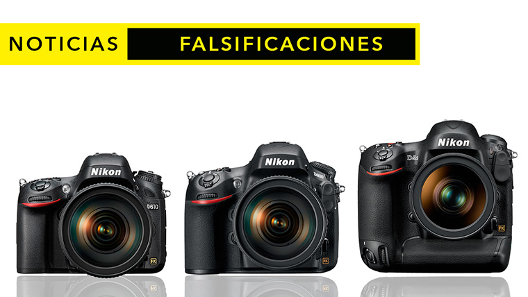 Falsificaciones en cámaras de Nikon