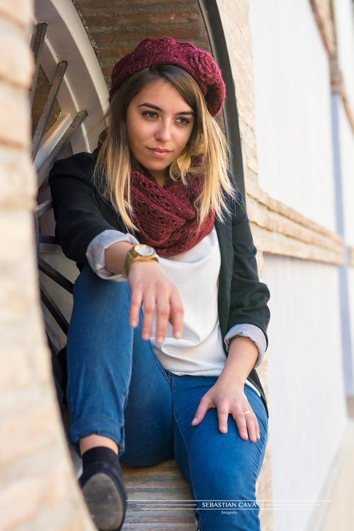 fotografia modelo en Alhama de murcia moda