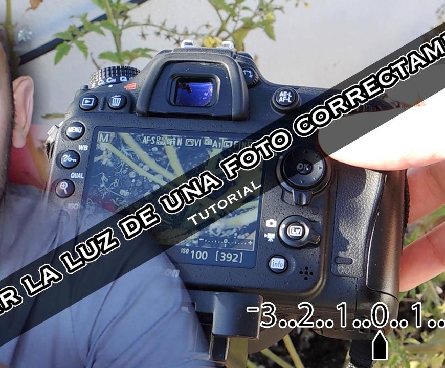 exponer correctamente una foto con cámara réflex